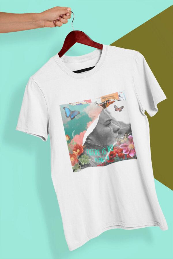 There Is No Planet B Bio-T-Shirt weiß Motiv für Tag der Erde